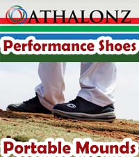 ATHALONZ - PORTABLE MOUND AND PERFORMANCE SHOES