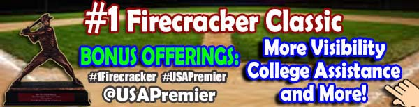 BONUS OFFERING - #1FIRECRACKER - USA PREMIER BASEBALL