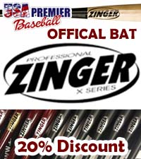 ZINGER BATS - OFFICIAL BAT OF USA PREMIER BASEBALL