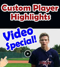 CUSTOM PLAYER VIDEO HIGHLIGHTS - SCHEDULE YOURS TODAY!